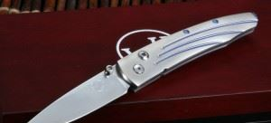 William Henry 威廉亨利 B10 ZDP-189钢 Vanguard Titanium Folding Knife