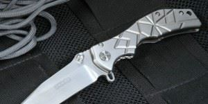 美国进口 HTM Darrel Ralph Custom Trigger Maze Manual Tactical Folding Knife