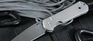 Chris Reeve美国克里斯里夫Large Sebenza 21 Ladder Damascus大马士革折刀